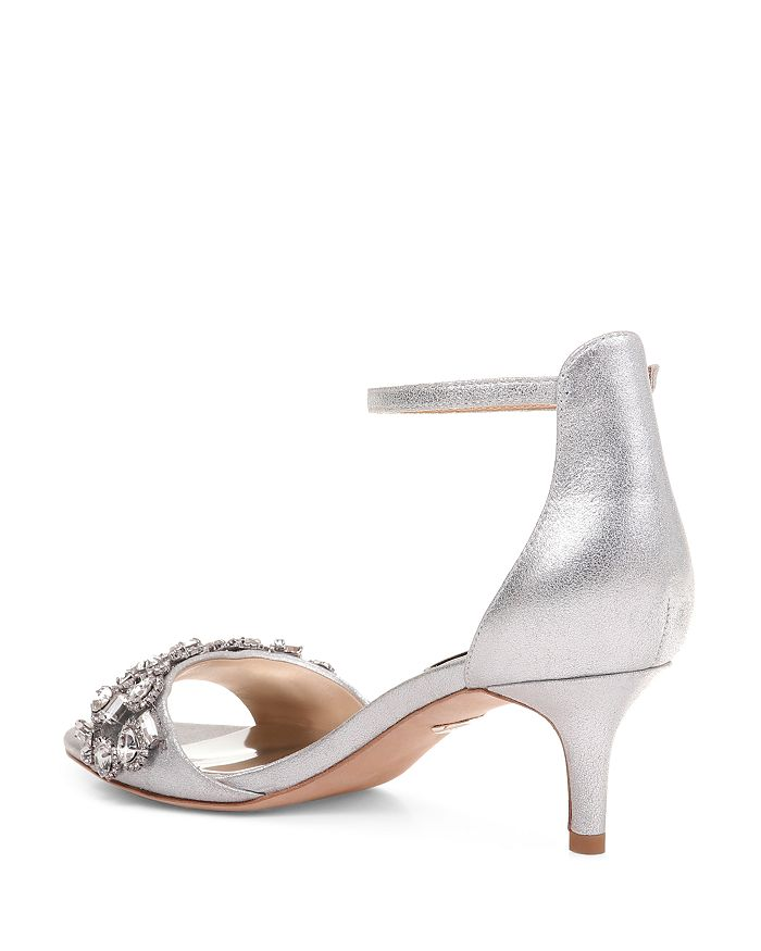 521e07b82 Badgley Mischka Women s Lara II Embellished High-Heel Sandals ...