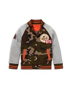 Ralph Lauren - Boys' Camouflage Color-Block Baseball Jacket - Little Kid