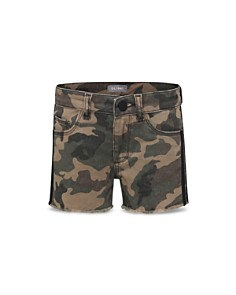 DL1961 - Girls' Lucy Camouflage Denim Shorts - Big Kid
