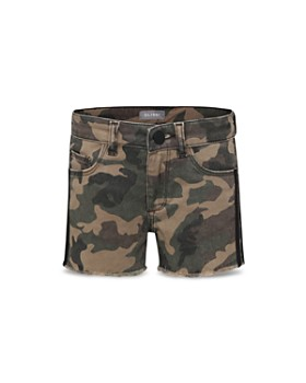 DL1961 - Girls  Lucy Camouflage Denim Shorts - Big Kid ... ba550d62b