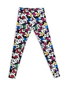 Terez - Girls' Disney Minnie Mouse Bows-on-Bows Leggings - Little Kid