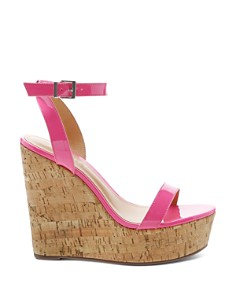 SCHUTZ - Women's Eduarda High-Heel Wedge Sandals
