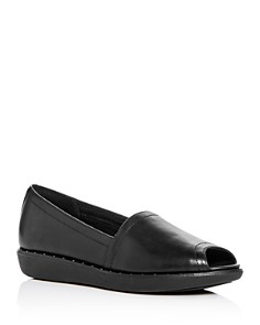 FitFlop - Women's Nadia Peep-Toe Loafers