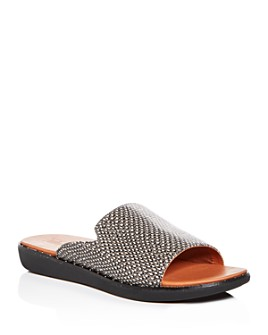 FitFlop - Women's Saffi Studded Platform Slide Sandals