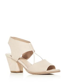 78fd583a1d52 Eileen Fisher - Women s Lino Block-Heel Sandals ...