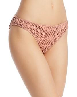 MINKPINK - Adrift Crochet Basic Bikini Bottom
