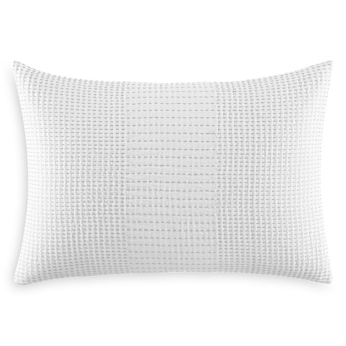 "Vera Wang - Blocked Running Stitch Decorative Pillow, 15"" x 22"" - 100% Exclusive"
