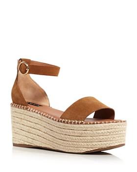 e48a37e0e87 AQUA - Women s Ria Suede Espadrille Platform Sandals - 100% Exclusive ...