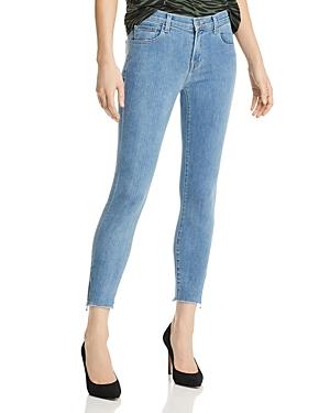 J Brand 835 Mid Rise Crop Skinny Jeans in Lightyear