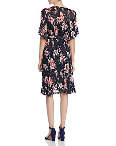 Elie Tahari - Isabelle Floral Burnout Dress
