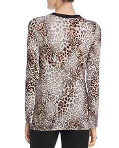 Elie Tahari - Sloane Leopard Print Top
