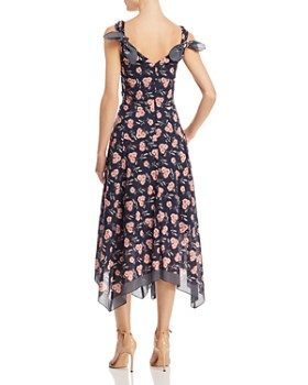 Rebecca Taylor - Adelle Scarf-Print Dress