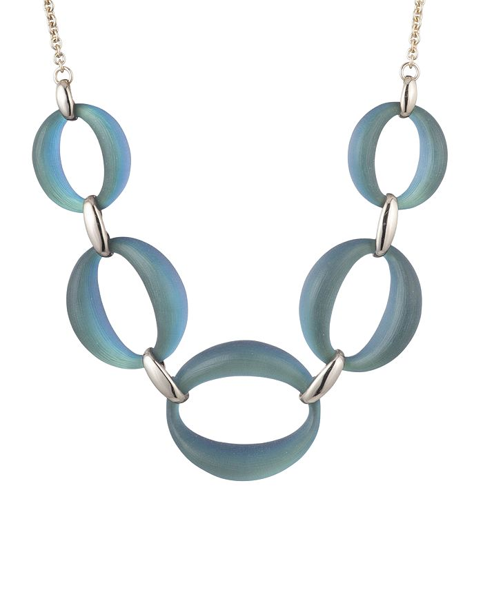 """Alexis Bittar - Large Link Necklace, 16"""""""