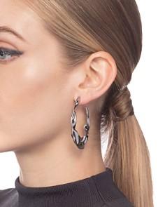 Alexis Bittar - Crumpled Hoop Earrings