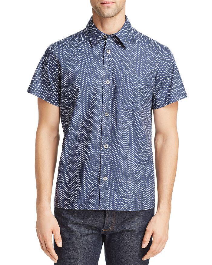 A.P.C. - Chemisette Cippi Short-Sleeve Dot-Print Regular Fit Shirt