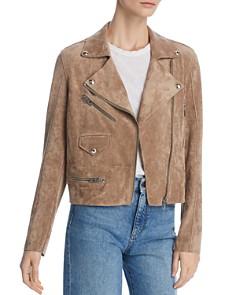 BLANKNYC - Faux-Suede Moto Jacket