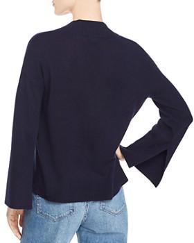 Minnie Rose - Slit-Cuff Cashmere Sweater