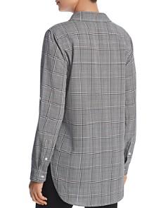 Calvin Klein - Glen Plaid Button Front Top