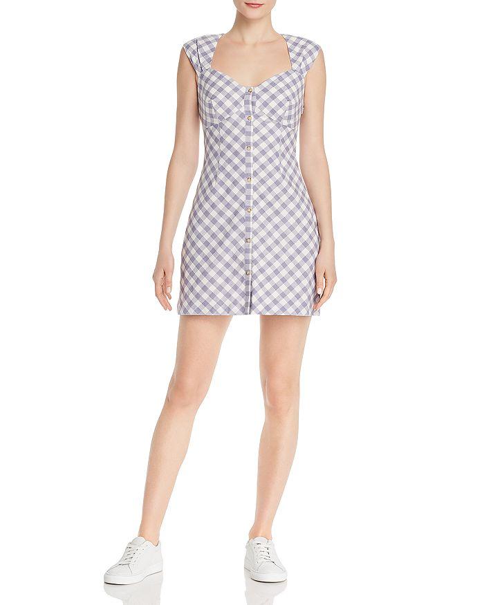 Saylor - Plaid Mini Dress