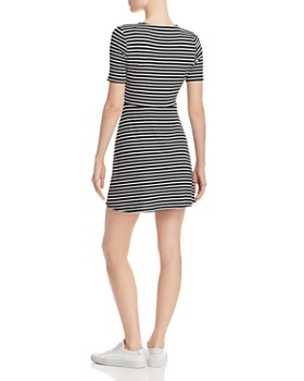 21e4da350cb6 ... Sadie   Sage - Ribbed Striped Dress