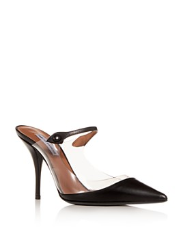 Tabitha Simmons - Women's Allie Clear High-Heel Mules