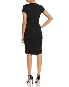 Kenneth Cole - Ruched Knit Dress