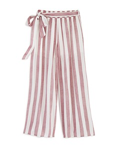 Vintage Havana - Girls' Striped Wide-Leg Pants - Big Kid