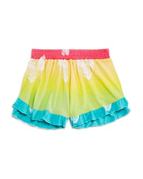 9c0b36385b6a14 Flowers by Zoe - Girls  Ombré Heart Shorts - Big ...
