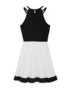 Sally Miller - Girls' The Hudson Fit-and-Flare Dress - Big Kid