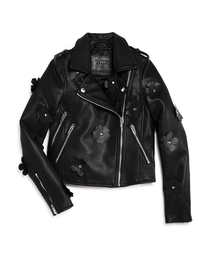 BLANKNYC - Girls' It Takes Two Faux-Leather Motorcycle Jacket - Big Kid