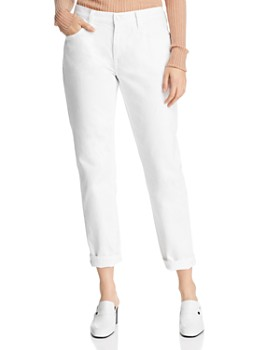 Current/Elliott - The Fling Boyfriend Jeans in 0 Clean White