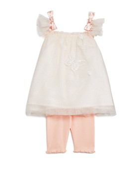 Miniclasix - Girls' Butterfly Tutu Tank & Leggings Set - Baby