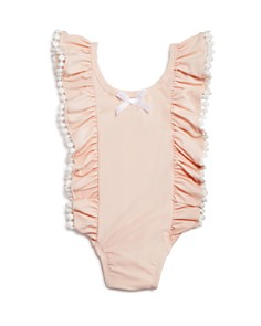 Miniclasix - Girls' Flutter One-Piece Swimsuit - Baby
