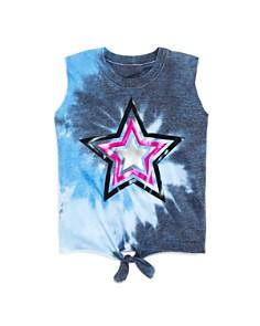 Play Six - Girls' Tie-Front Star Tank - Little Kid