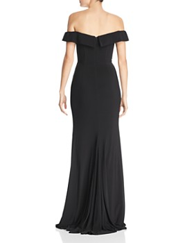 Faviana Couture - Off-the-Shoulder Gown