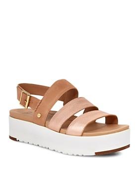 b28a731a1 UGG® - Women s Braelynn Platform Slingback Sandals ...