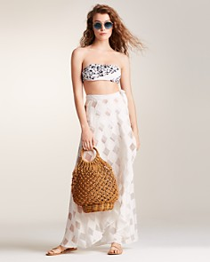 Onia - Amanda Wrap Skirt Swim Cover-Up