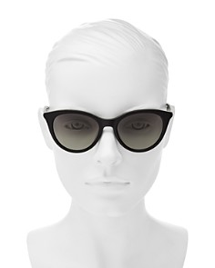 kate spade new york - Women's Janalynn Round Sunglasses, 51mm