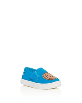 TOMS - x Sesame Street Boy's Cookie Monster Luca Low-Top Sneakers - Baby, Walker, Toddler