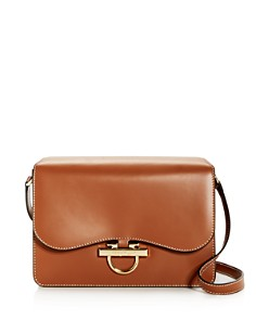 Salvatore Ferragamo - Joanne Classic Leather Shoulder Bag