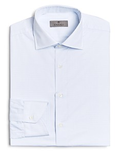 Canali - Graphic Check Regular Fit Dress Shirt