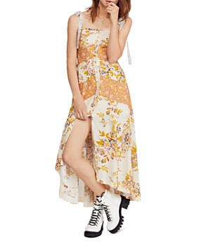 Free People - Lover Boy Floral High/Low Dress
