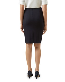 HOBBS LONDON - Kora Piqué Pencil Skirt