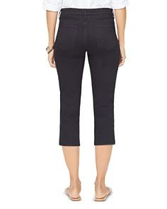 NYDJ - Vented Capri Jeans in Black