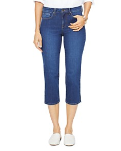 NYDJ - Vented Capri Jeans in Cooper