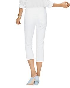 NYDJ - Vented Capri Jeans in Optic White