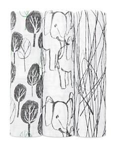 Aden and Anais - Unisex Sage Advice 3-Piece Swaddle Blanket Set