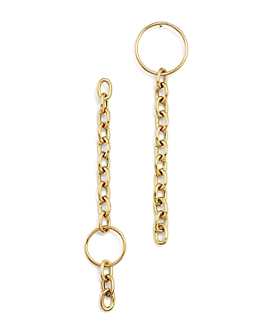 Zoe Chicco 14K Yellow Gold Mix Match Circle Drop Earrings-Jewelry & Accessories