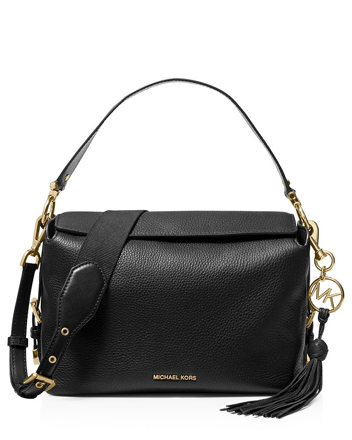 38a5e3afbf4b MICHAEL Michael Kors Brooke Medium Leather Satchel | Bloomingdale's