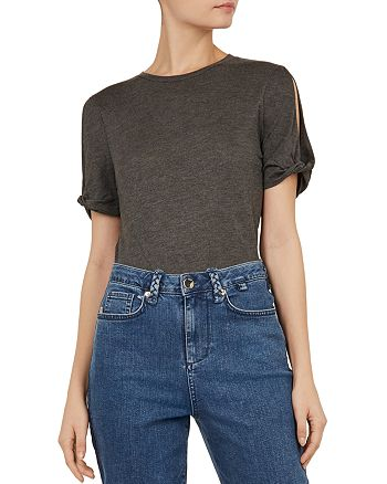Ted Baker - Colour by Numbers Narva Cold-Shoulder Tee
